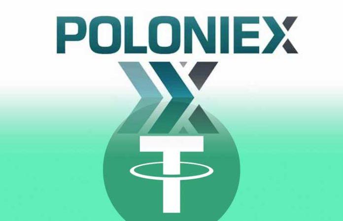 صرافی پولونکس از تتر در بلاک چین ترون پشتیبانی میکند