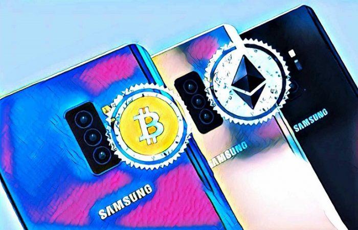 گوشی های سامسونگ از ویژگیهای رمزنگاری و بلاک چین برخوردار می شوند