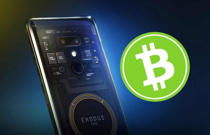 اولین گوشی هوشمند با امکان نگهداری دفتر کل معاملات بیت کوین